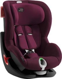 Mašīnas sēdeklis Britax Romer Seat Black Series King II LS, sarkana, 9 - 18 kg