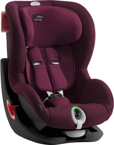 Автомобильное сиденье Britax Romer Seat Black Series King II LS Burgundy Red, 9 - 18 кг