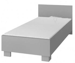 Детская кровать Idzczak Meble Smyk II 36 Gray, 206x93.5 см