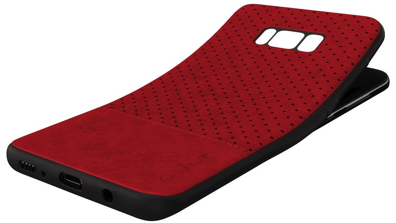 Qult Luxury Drop Back Case For Samsung Galaxy S9 Plus Red