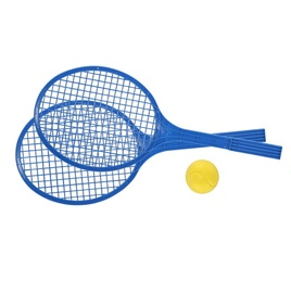 Rotaļu raķete Toy Maxi Rackets Set Blue 51.2x21.2cm