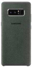 Samsung Alcantara Back Cover For Samsung Galaxy Note 8 Khaki