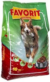 Favorit Dry Dog Food Beef 10kg