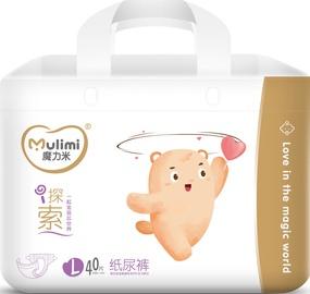 Mulimi Diapers L 40pcs