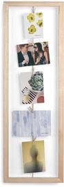 Umbra Clothes Line Flip Photo Frame Natural