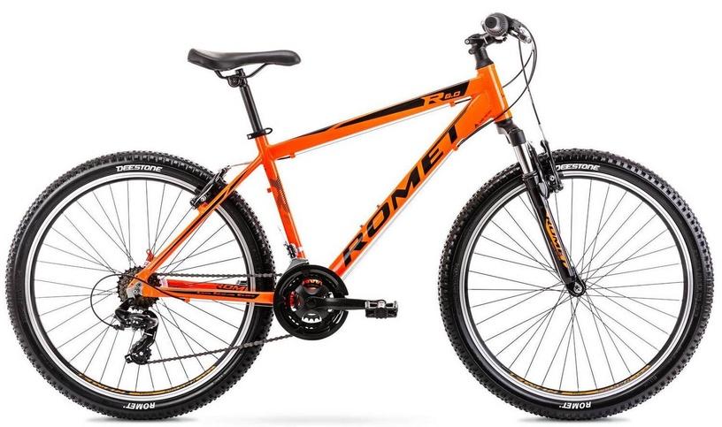 "Velosipēds Romet Rambler R6.0 Orange, 17"", 26"""