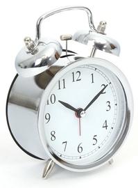Platinet Alarm Clock March Silver 43632
