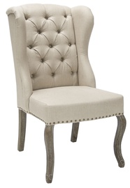 Ēdamistabas krēsls Home4you Watson Beige 11775, 1 gab.