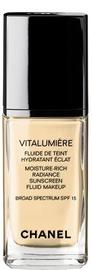 Tonizējošais krēms Chanel Vitalumiere Fluid Makeup Clair, 30 ml