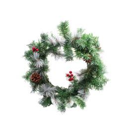Ziemassvētku vainags Christmas Touch HJW12-35 Green, 350 mm