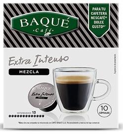 Kafijas kapsulas Cafe Baque Extra Intense, 10 gab.