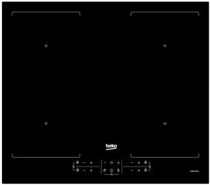 Индукционная плита Beko HII64201F2HT
