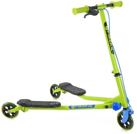 Yvolution Y Fliker Air1 Swing Wiggle Scooter Green/Blue