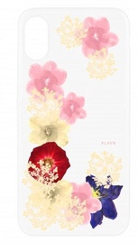 Flavr Real 3D Flowers Premium Case For Apple iPhone X Grace