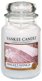 Aromātiskā svece Yankee Candle Classic Large Jar Angel's Wings, 623 g, 110 h