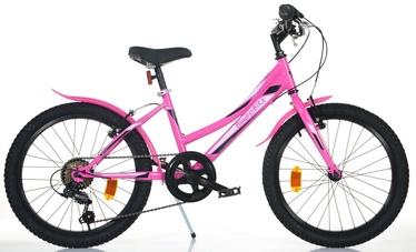 """Bērnu velosipēds Bimbo Bike Virus Girl 20"""" Pink 20"""