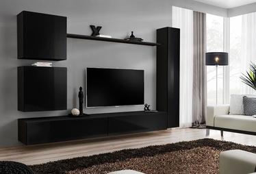 Dzīvojamās istabas mēbeļu komplekts ASM Switch VIII Black