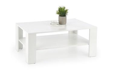 Kafijas galdiņš Halmar Kwadro, balta, 1100x650x530 mm