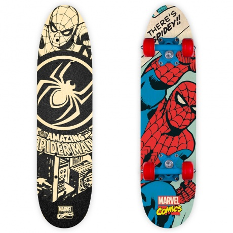 Skrituļdēlis Disney Spider Man, melna/sarkana