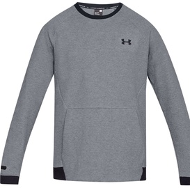 Under Armour Unstoppable Double Knit Crew Jumper 1329712-035 Grey L