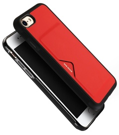 Dux Ducis Pocard Series Premium Back Case For Apple iPhone XR Red
