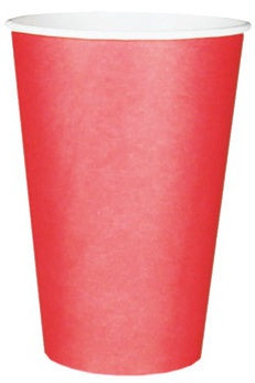 Pap Star Paper Glass 20cl 20pcs Red