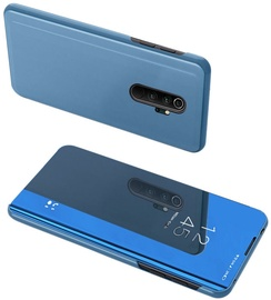 Hurtel Clear View Case For Xiaomi Redmi Note 8 Pro Blue