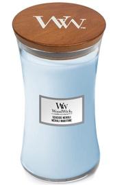 WoodWick Seaside Neroli Candle 609.5g Light Blue