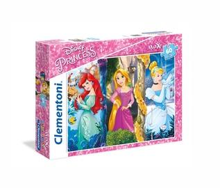 Пазл Clementoni Maxi Disney Princess 26416, 60 шт.