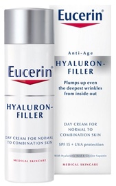 Eucerin Hyaluron-Filler Day Cream SPF15 50ml Normal to Combination Skin