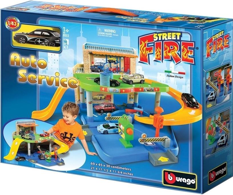 Автомобильная трасса Bburago Street Fire Auto Service 18-30039