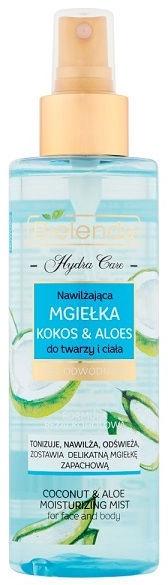 Ķermeņa aerosols Bielenda Hydra Care Coconut & Aloe Face And Body,200 ml