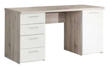 Письменный стол Forte BEAT25 P79 White/Brown