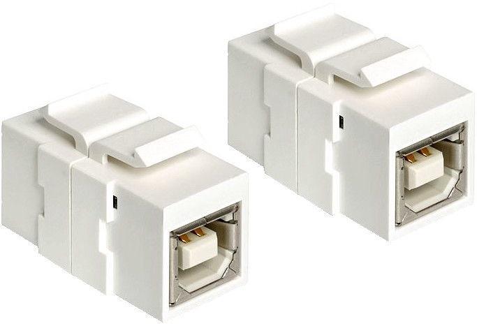 Delock Keystone Module USB 2.0 B Female White