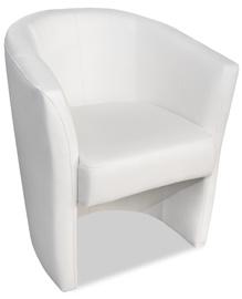 Atzveltnes krēsls Platan Oxford White, 67x68x78 cm