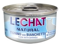 Monge LeChat Natural Morsels of Tuna & Whitebait 80g