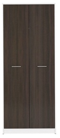 Black Red White Nepo Plus Hallway Wardrobe White/Wenge
