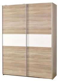Гардероб Halmar Lima S-1 Oak Sonoma/White, 153x58x210 см