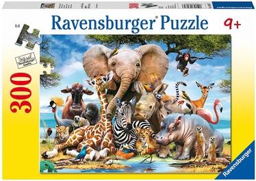 Ravensburger Puzzle African Friends 300pcs 13075