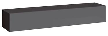ТВ стол ASM Switch RTV 1 Graphite, 1800x400x300 мм