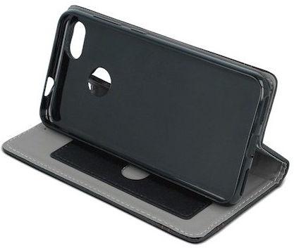 Mocco Smart Focus Book Case For LG K10 2017 Black/Red