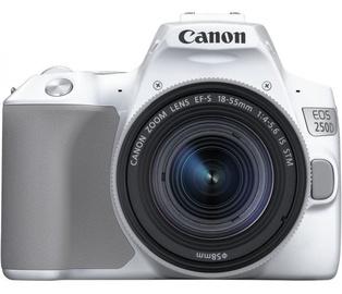 Spoguļkamera Canon EOS 250D + 18-55mm IS STM Kit White