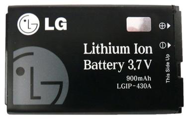 LG LGIP-430A Original Battery 900mAh