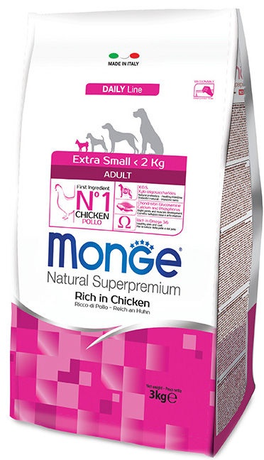 Monge Speciality Line Extra Small Adult 3kg