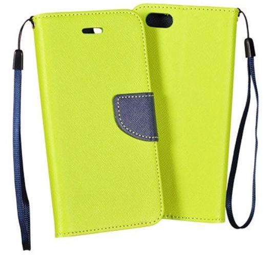 Mocco Fancy Book Case For LG G6 Green/Blue
