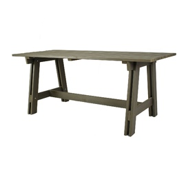 Садовый стол Folkland Timber Riva Graphite, 178 x 78 x 77 см