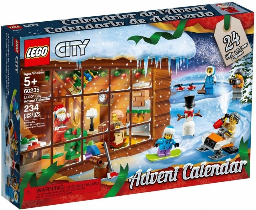 Konstruktors LEGO City Advent Calendar 60235