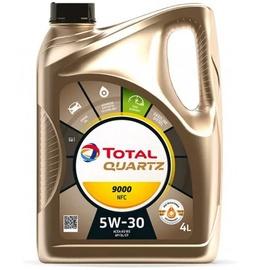 Motoreļļa Total Quartz Future NFC 9000 5W - 30, sintētiskais, vieglajam auto, 4 l