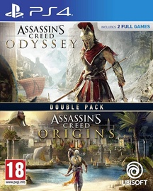 Assassin's Creed Origins and Odyssey Double Pack PS4