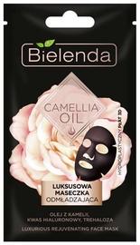 Sejas maska Bielenda Camellia Oil Luxurious Sheet Mask, 1 gab.